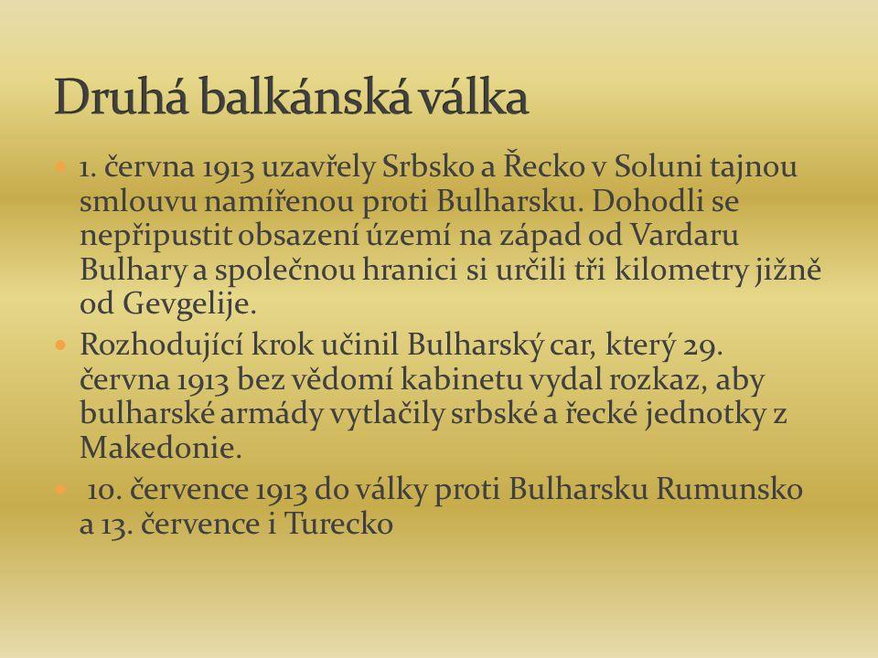 Druhá balkánská válka