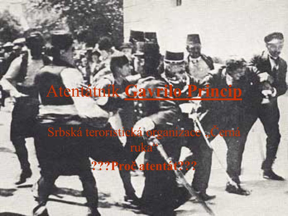 Atentátník Gavrilo Princip