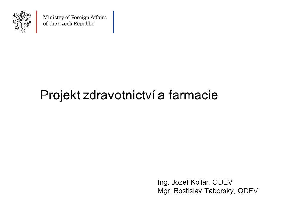 Projekt zdravotnictví a farmacie
