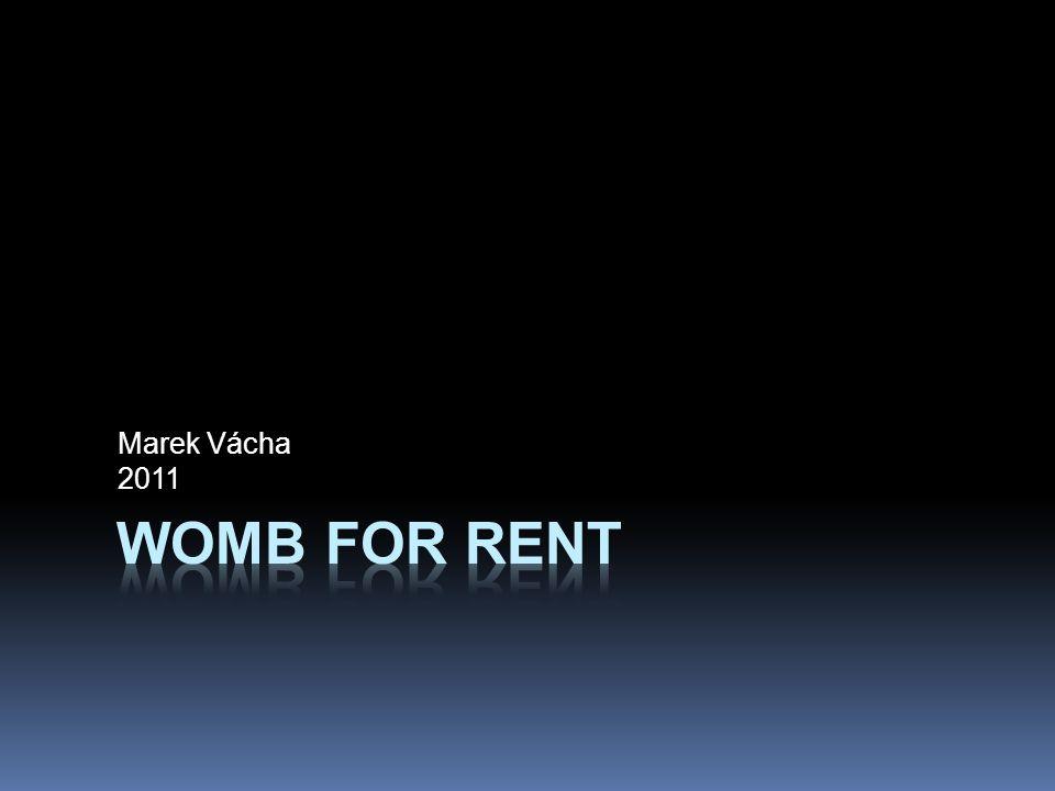 Marek Vácha 2011 Womb for rent