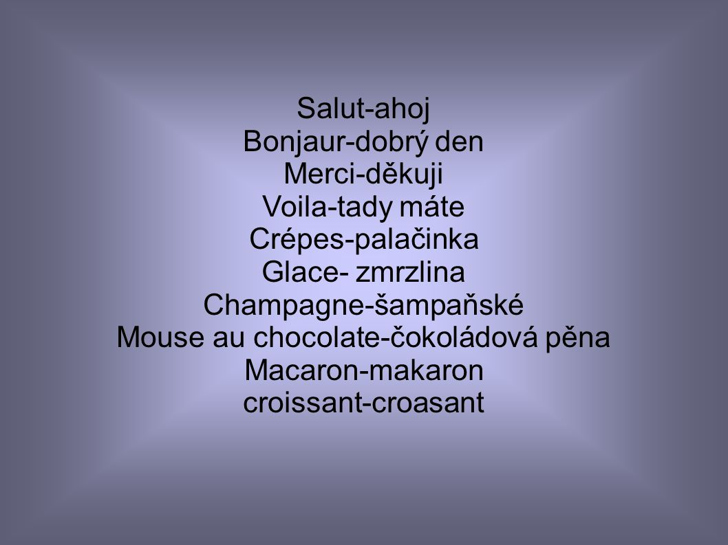 Mouse au chocolate-čokoládová pěna
