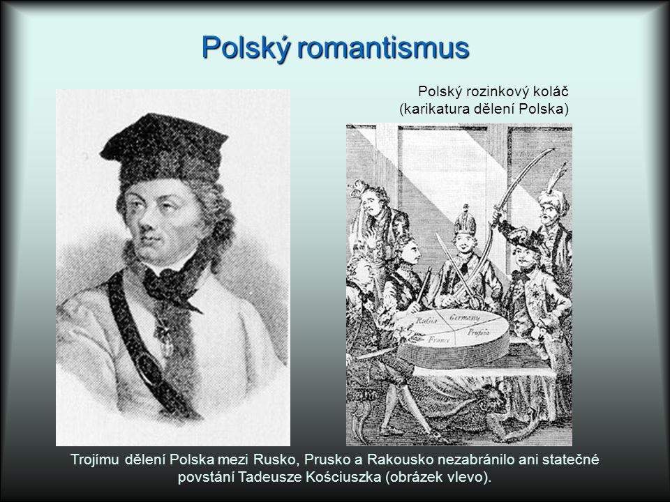 povstání Tadeusze Kościuszka (obrázek vlevo).