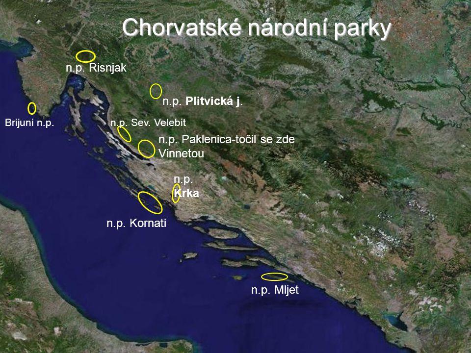 Chorvatské národní parky