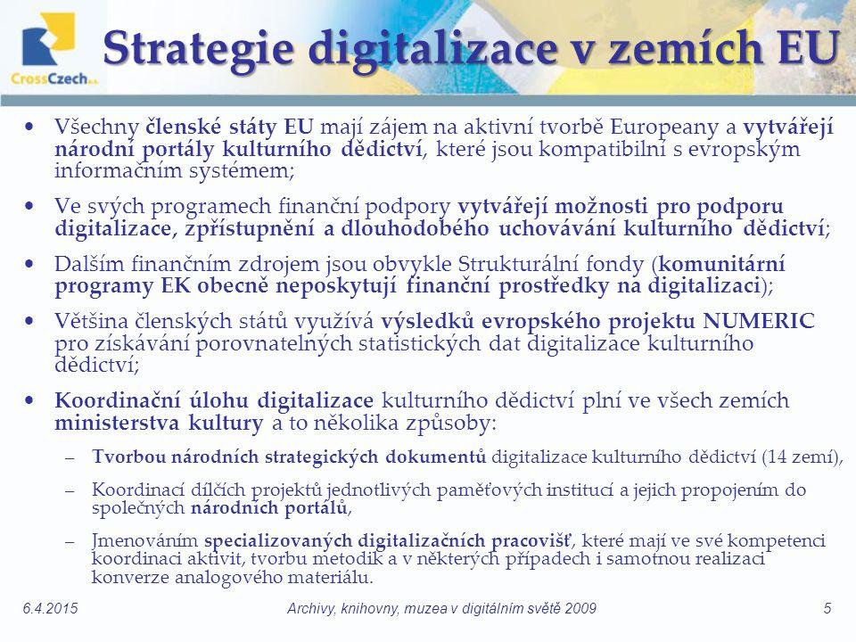 Strategie digitalizace v zemích EU