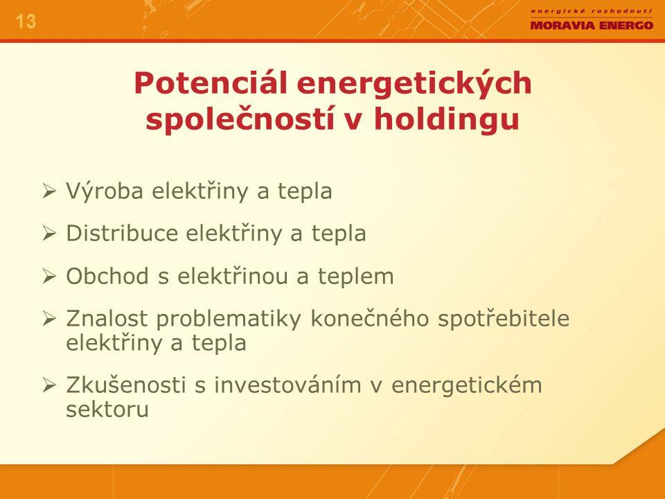Zkušenosti Dobrá znalost problematiky energetiky v tržním prostředí