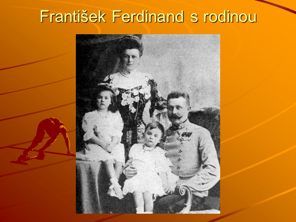 František Ferdinand s rodinou