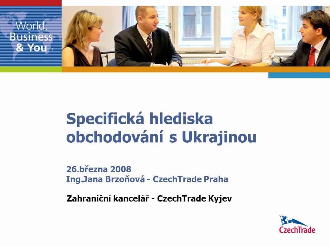 Zahraniční kancelář - CzechTrade Kyjev