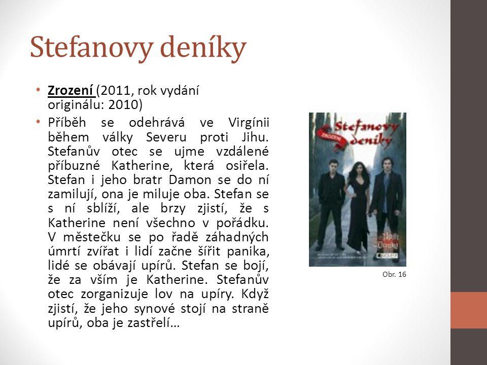 Stefanovy deníky Zrození (2011, rok vydání originálu: 2010)