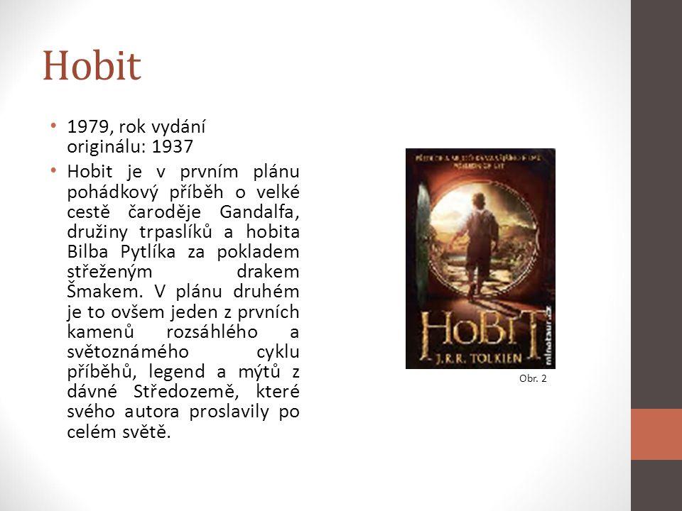 Hobit 1979, rok vydání originálu: 1937