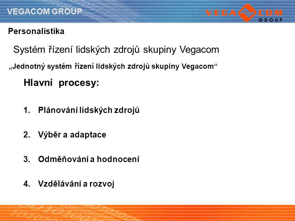 Systém řízení lidských zdrojů skupiny Vegacom