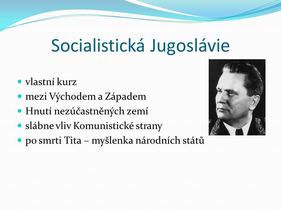 Socialistická Jugoslávie