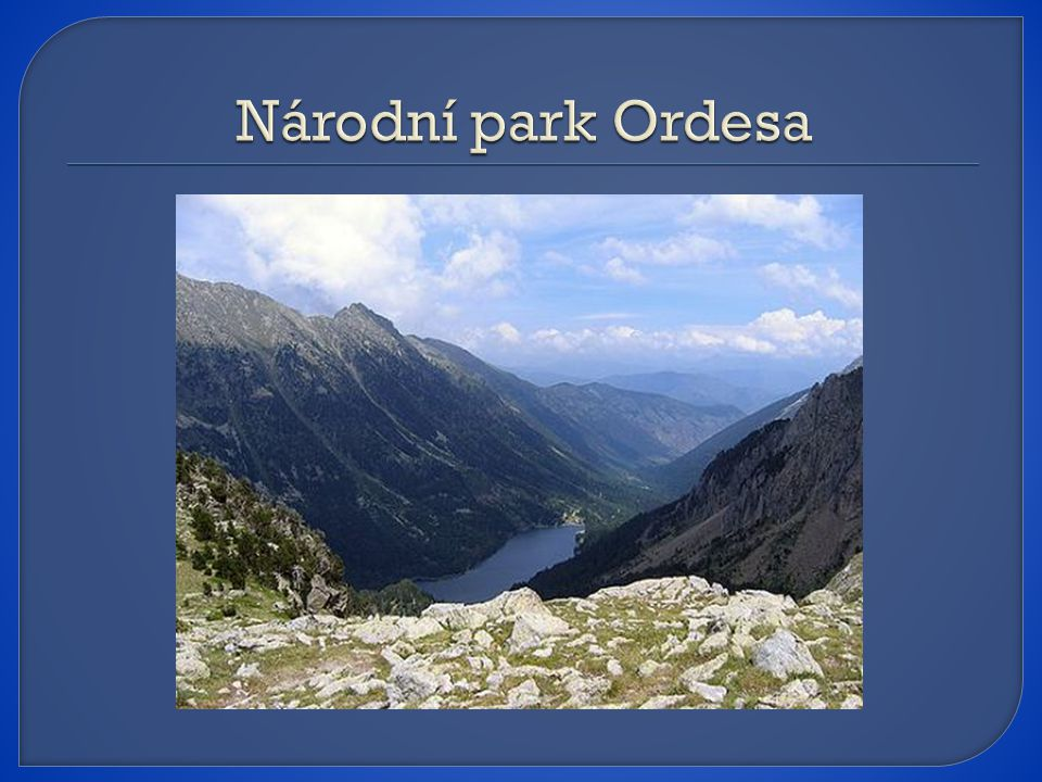 Národní park Ordesa