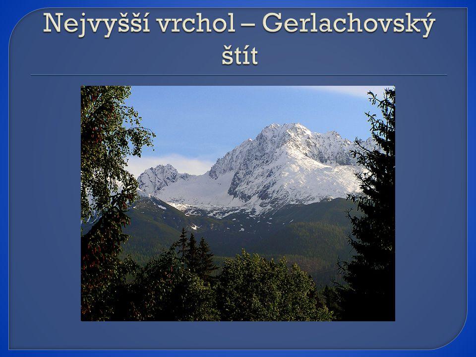 Nejvyšší vrchol – Gerlachovský štít