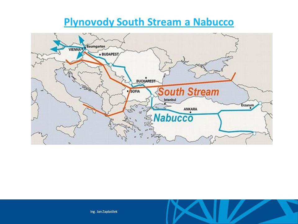 Plynovody South Stream a Nabucco