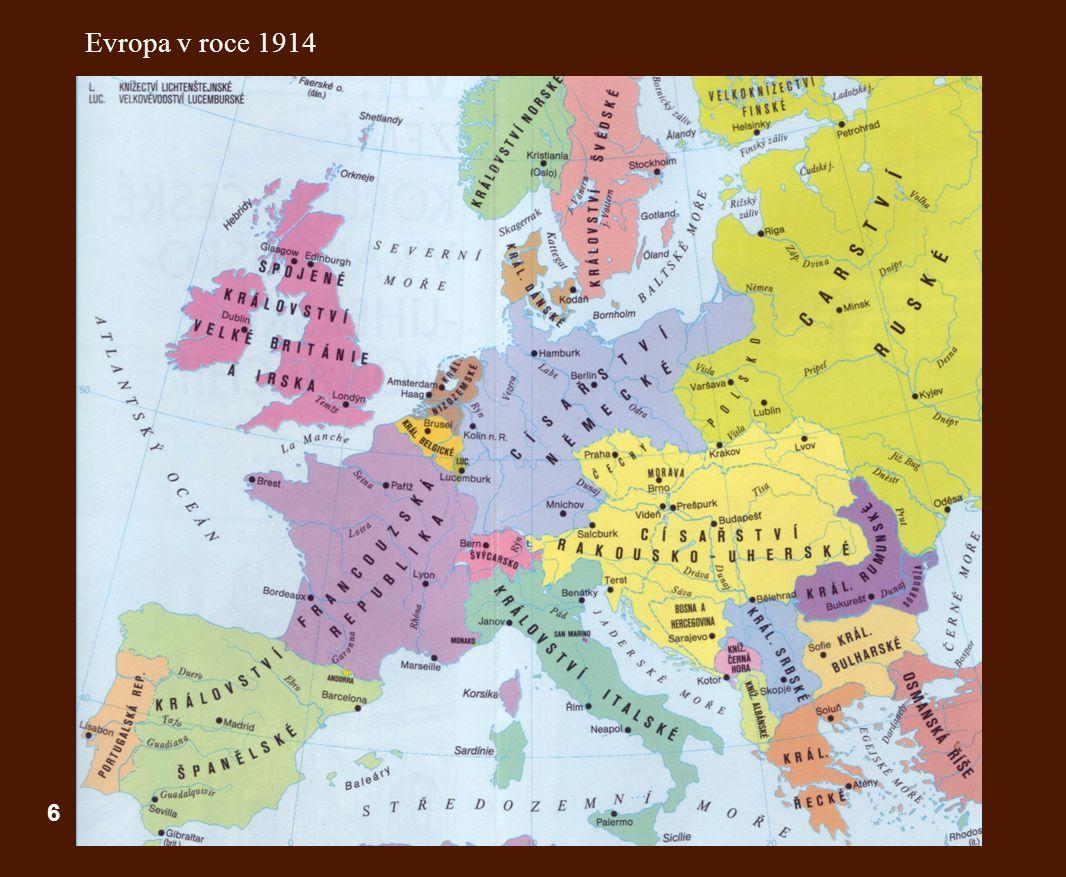 Evropa v roce 1914 6