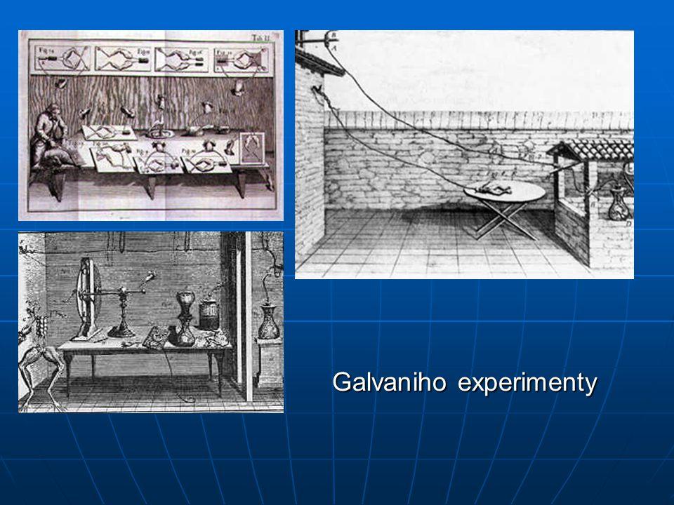 Galvaniho experimenty