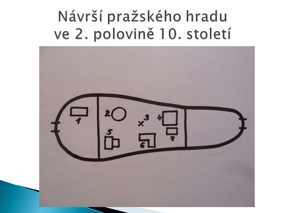 Návrší pražského hradu ve 2. polovině 10. století
