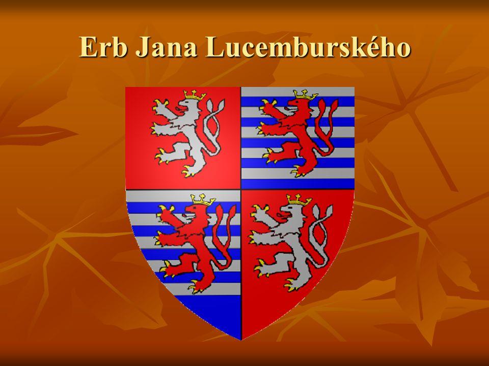 Erb Jana Lucemburského