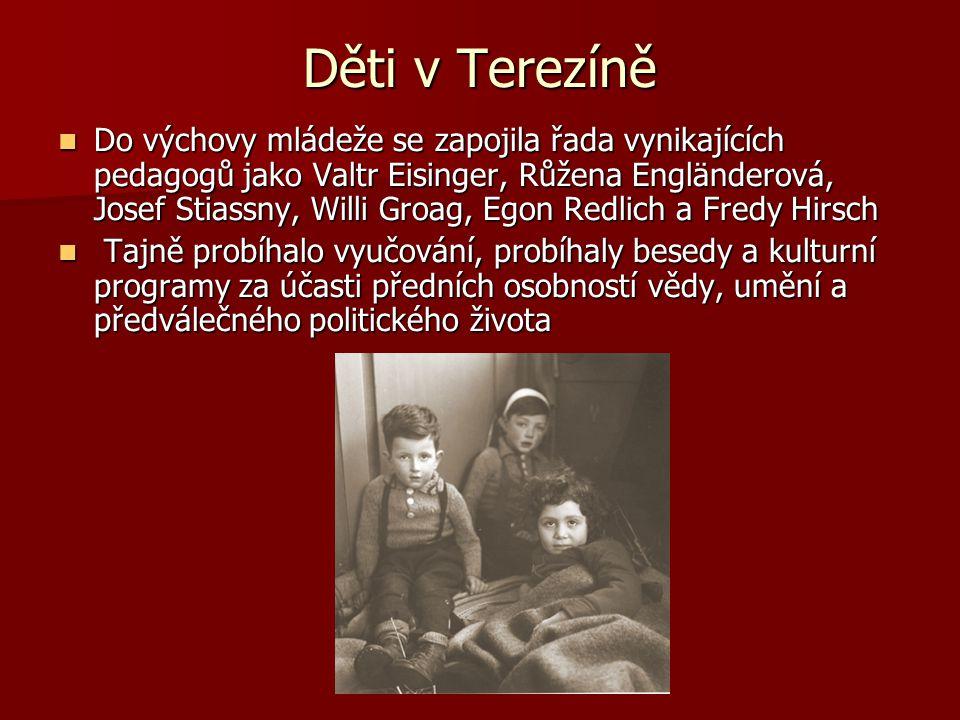 Děti v Terezíně