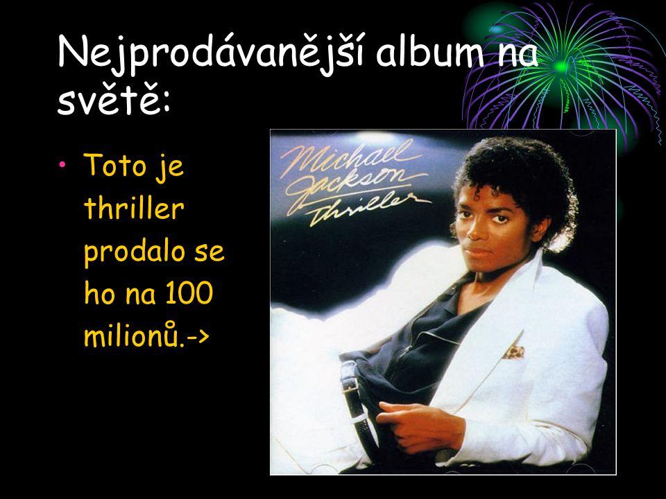 Nejprodávanější album na světě: