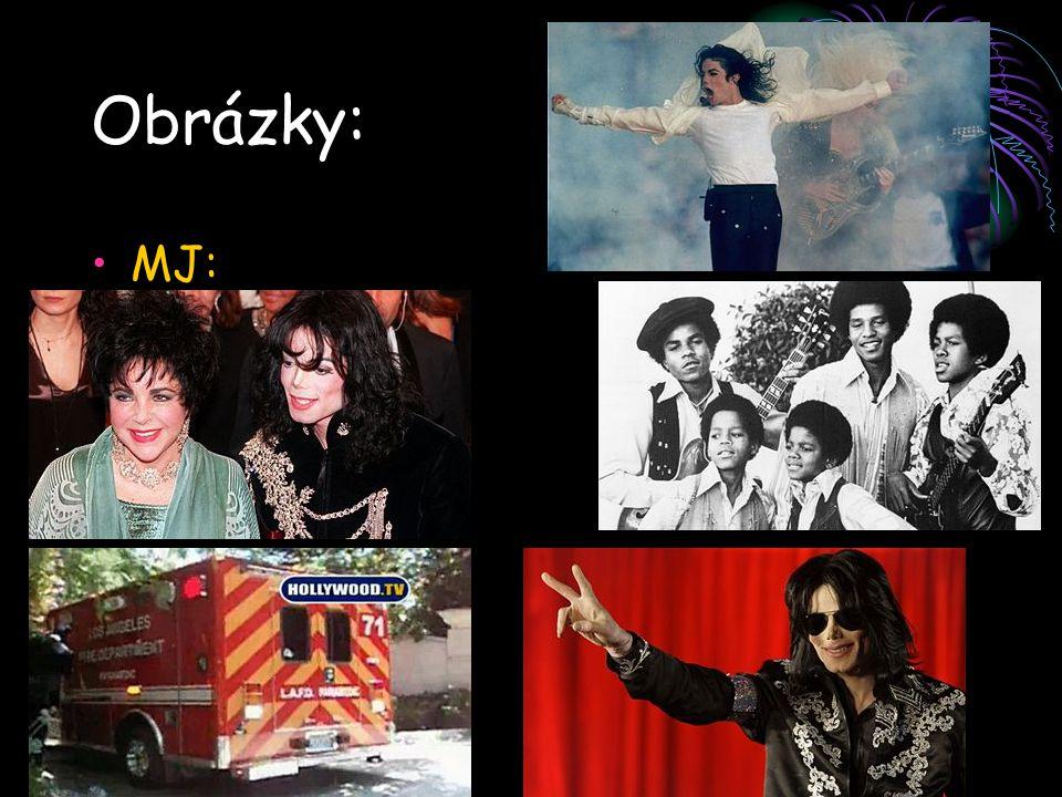 Obrázky: MJ: