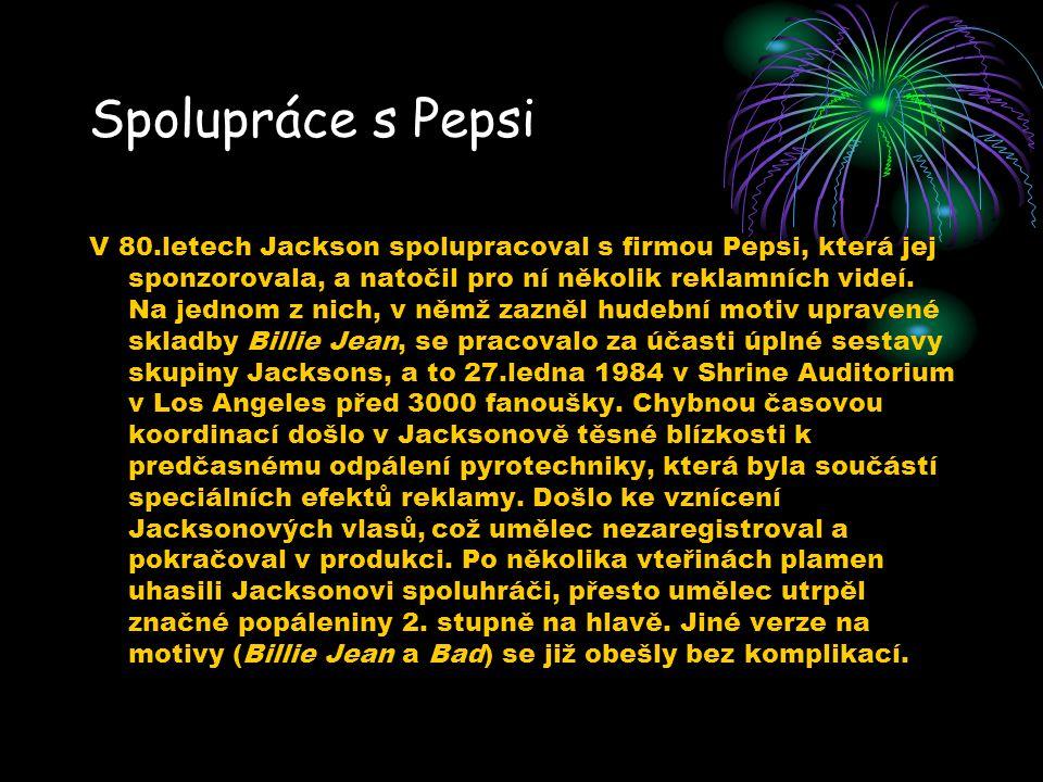 Spolupráce s Pepsi