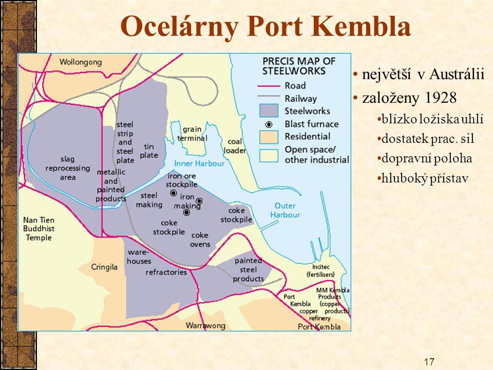Ocelárny Port Kembla největší v Austrálii založeny 1928