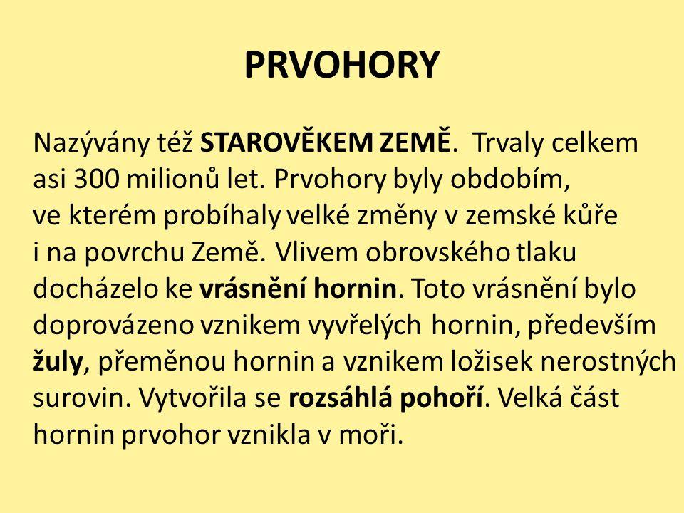 PRVOHORY