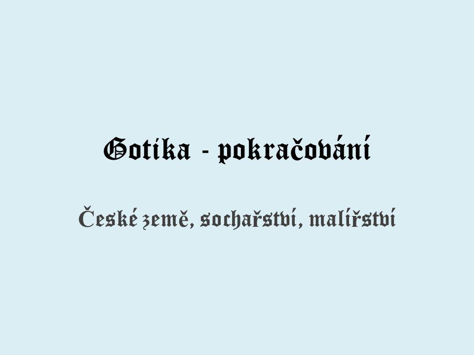 České země, sochařství, malířství