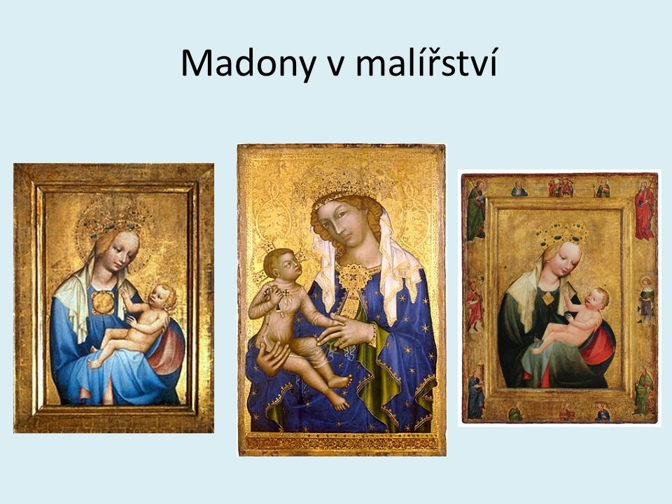 Madony v malířství
