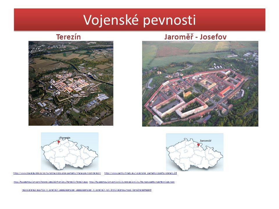 Vojenské pevnosti Terezín Jaroměř - Josefov