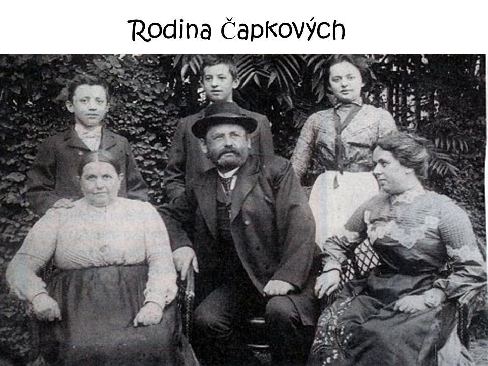 Rodina Čapkových