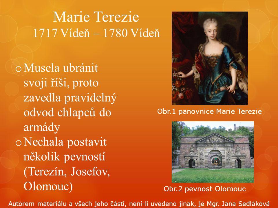 Marie Terezie 1717 Vídeň – 1780 Vídeň