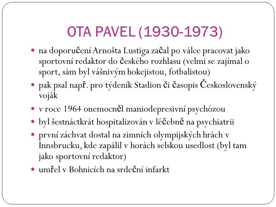 OTA PAVEL (1930-1973)