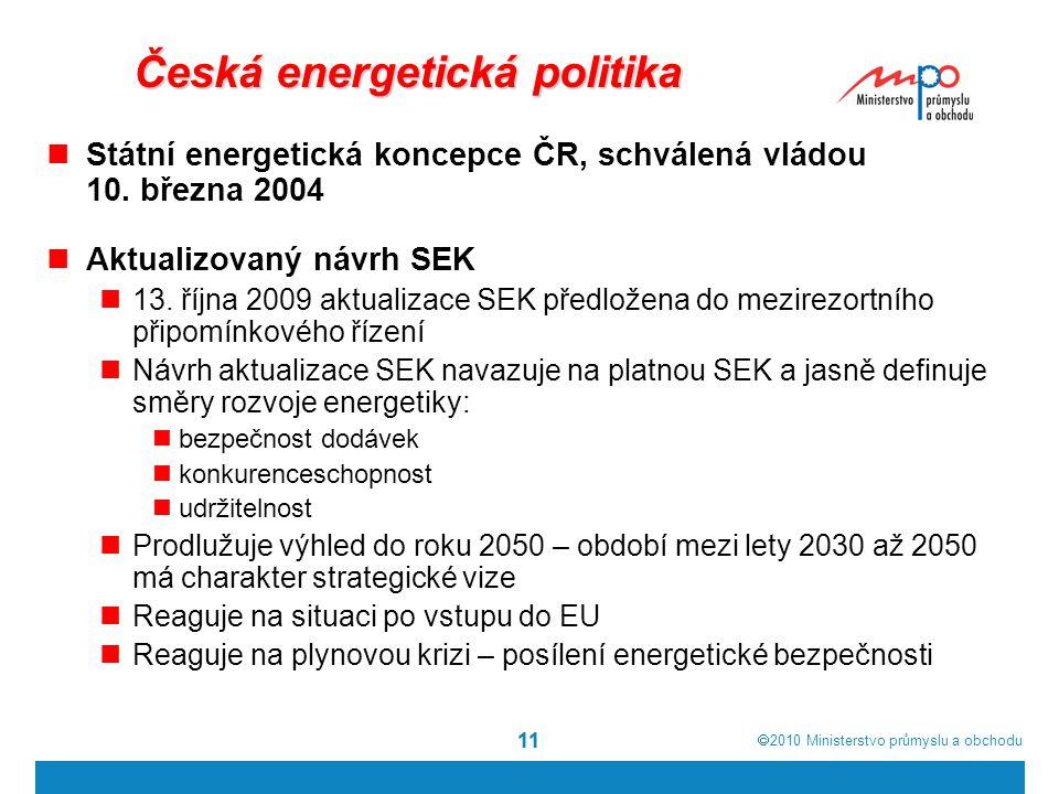 Česká energetická politika