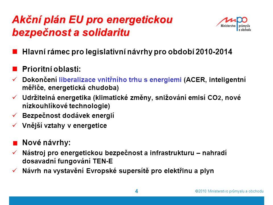 Akční plán EU pro energetickou bezpečnost a solidaritu