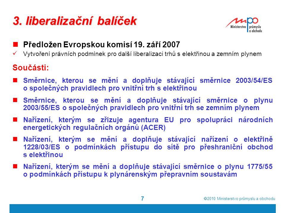 3. liberalizační balíček