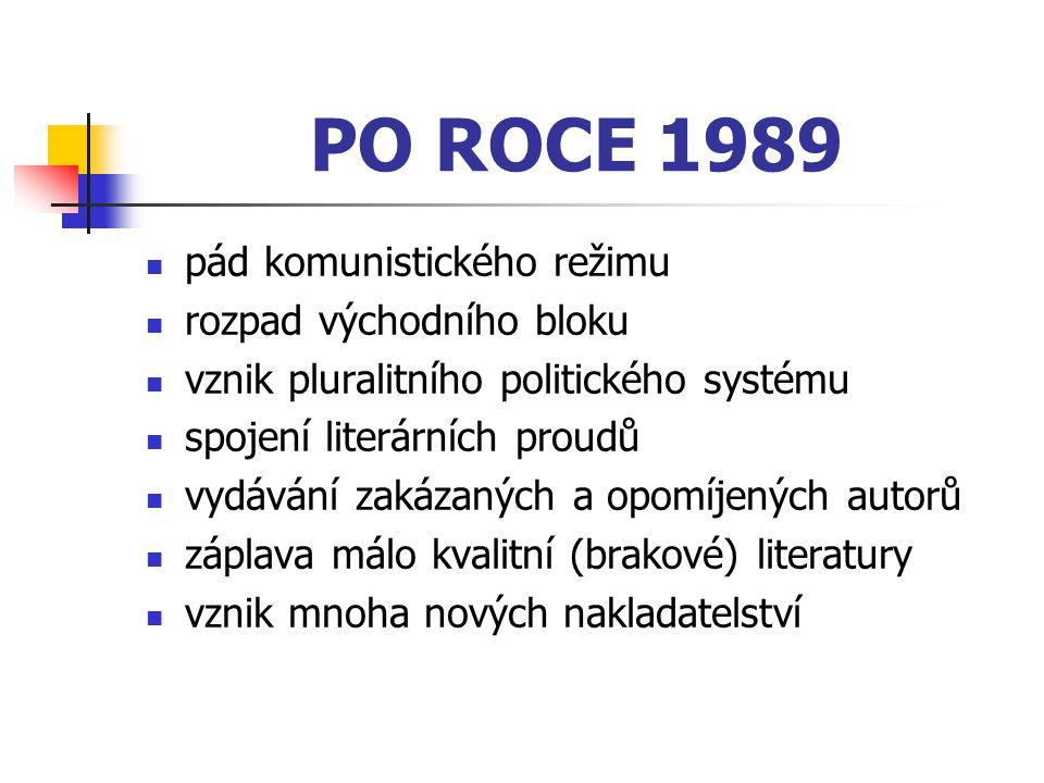 PO ROCE 1989 pád komunistického režimu rozpad východního bloku