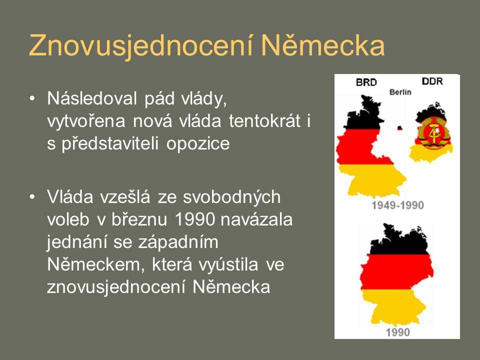 Znovusjednocení Německa