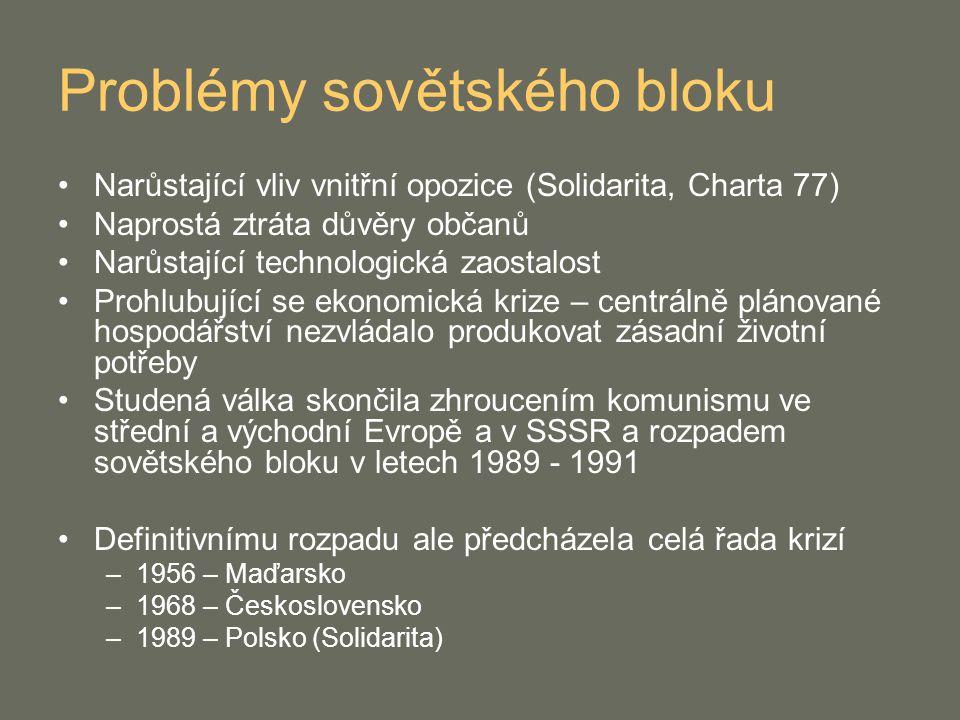 Problémy sovětského bloku
