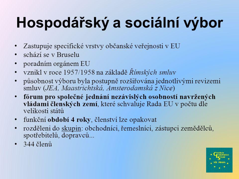 Hospodářský a sociální výbor