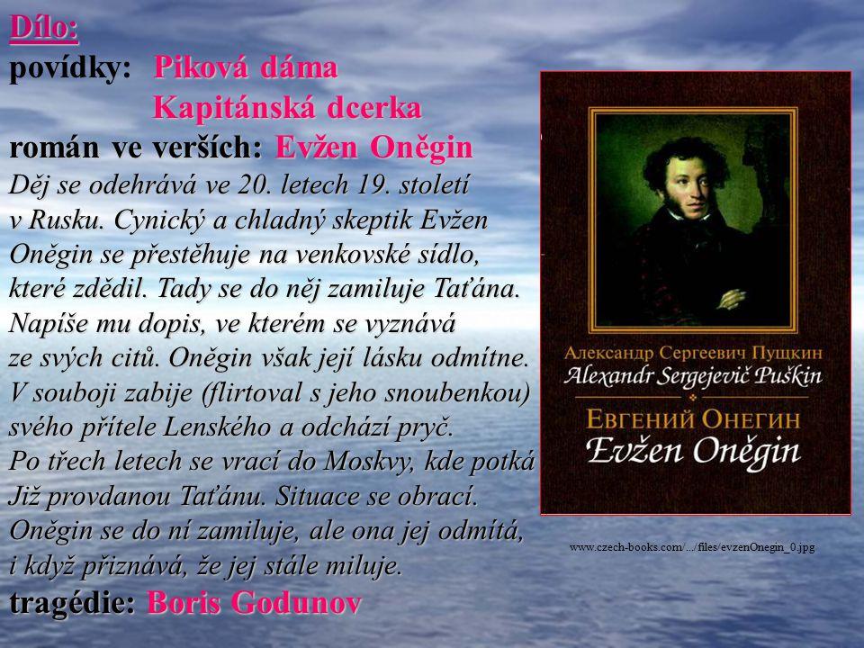 román ve verších: Evžen Oněgin