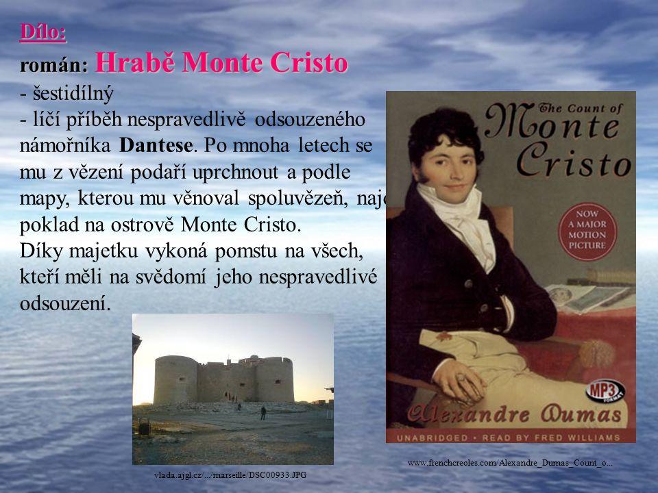 román: Hrabě Monte Cristo šestidílný
