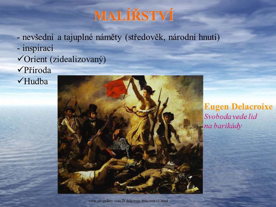 MALÍŘSTVÍ nevšední a tajuplné náměty (středověk, národní hnutí)