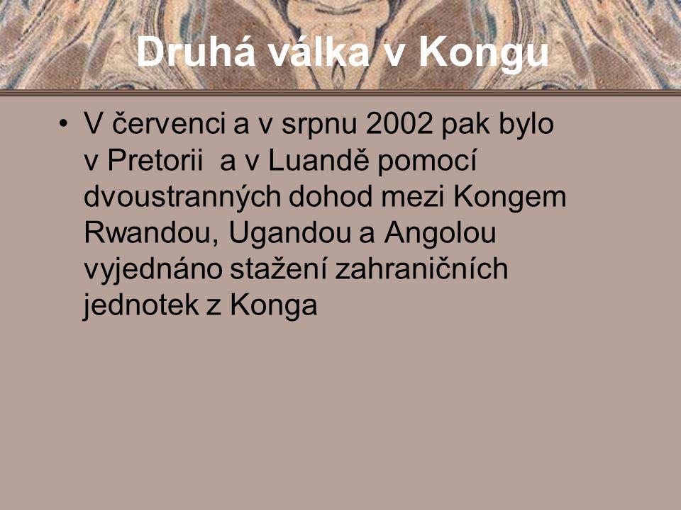 Druhá válka v Kongu