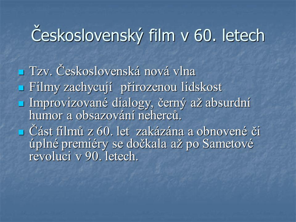 Československý film v 60. letech