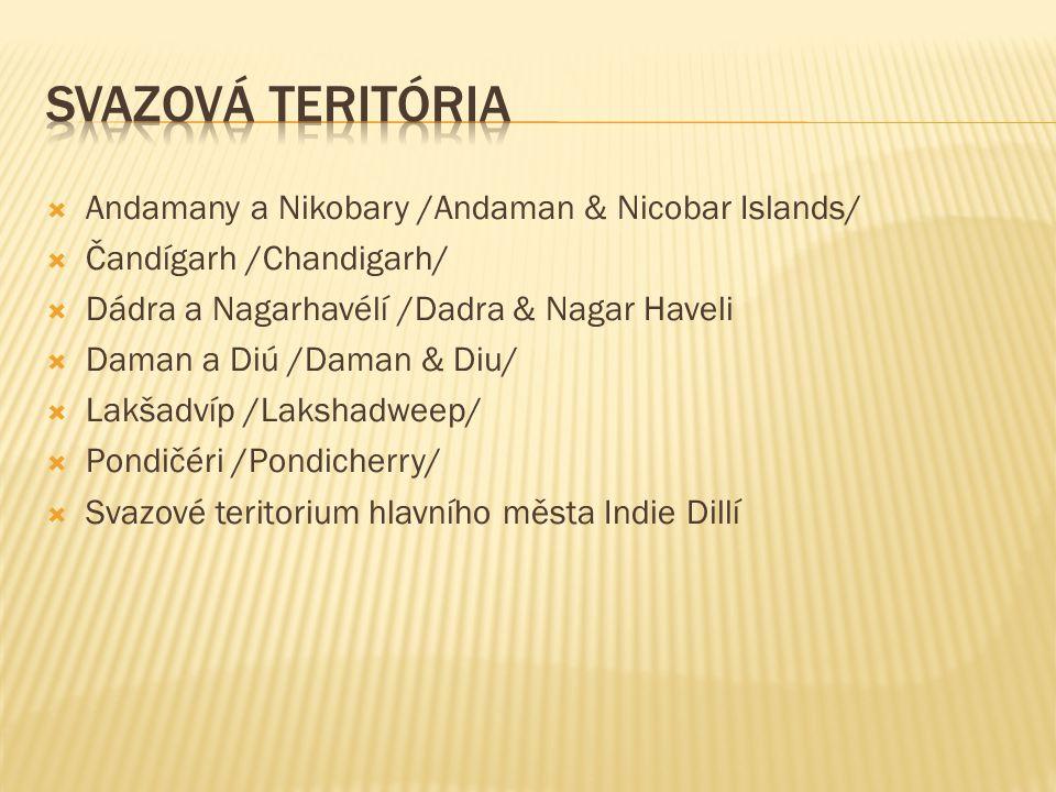 Svazová teritória Andamany a Nikobary /Andaman & Nicobar Islands/
