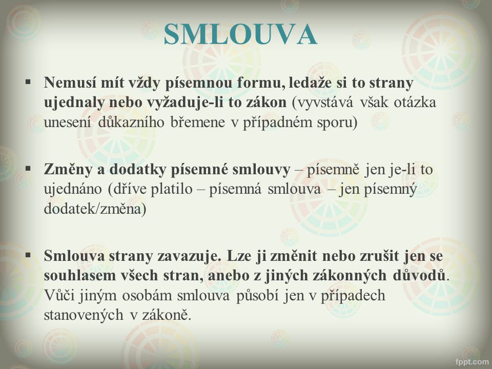 SMLOUVA