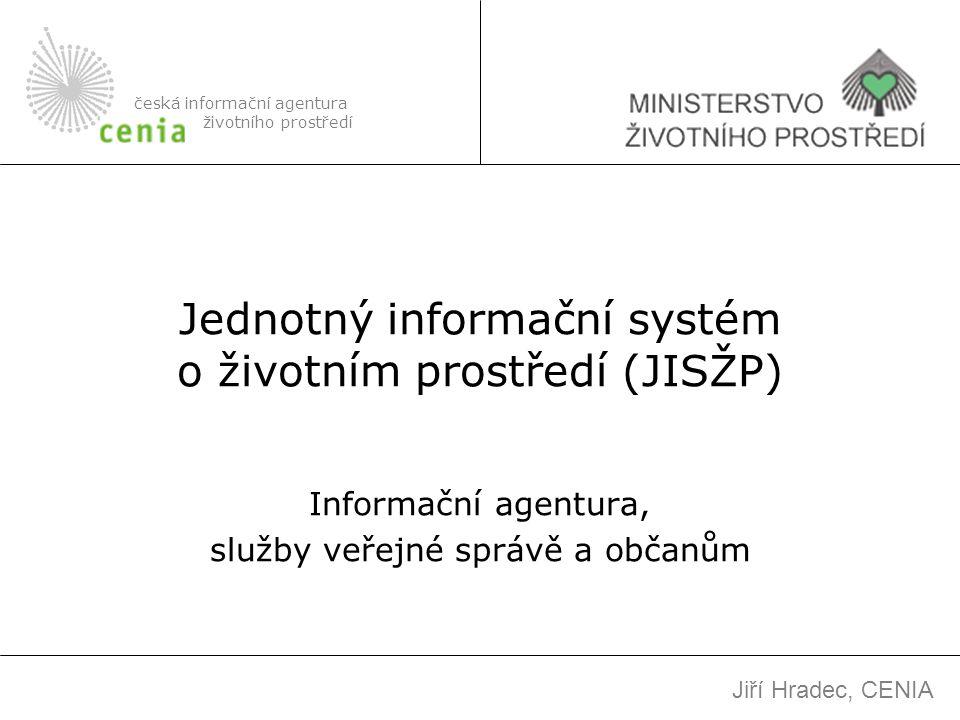 Jednotný informační systém o životním prostředí (JISŽP)