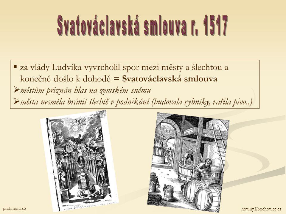 Svatováclavská smlouva r. 1517